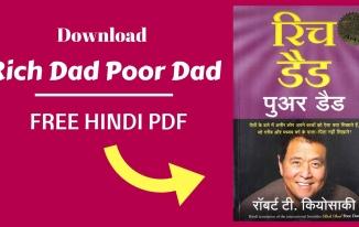 Rich Dad Poor Dad In Hindi Free PDF Download