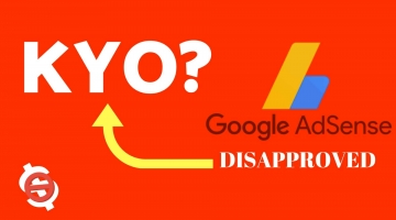 adsense disapproved