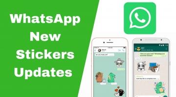 WhatsApp New Stickers Updates