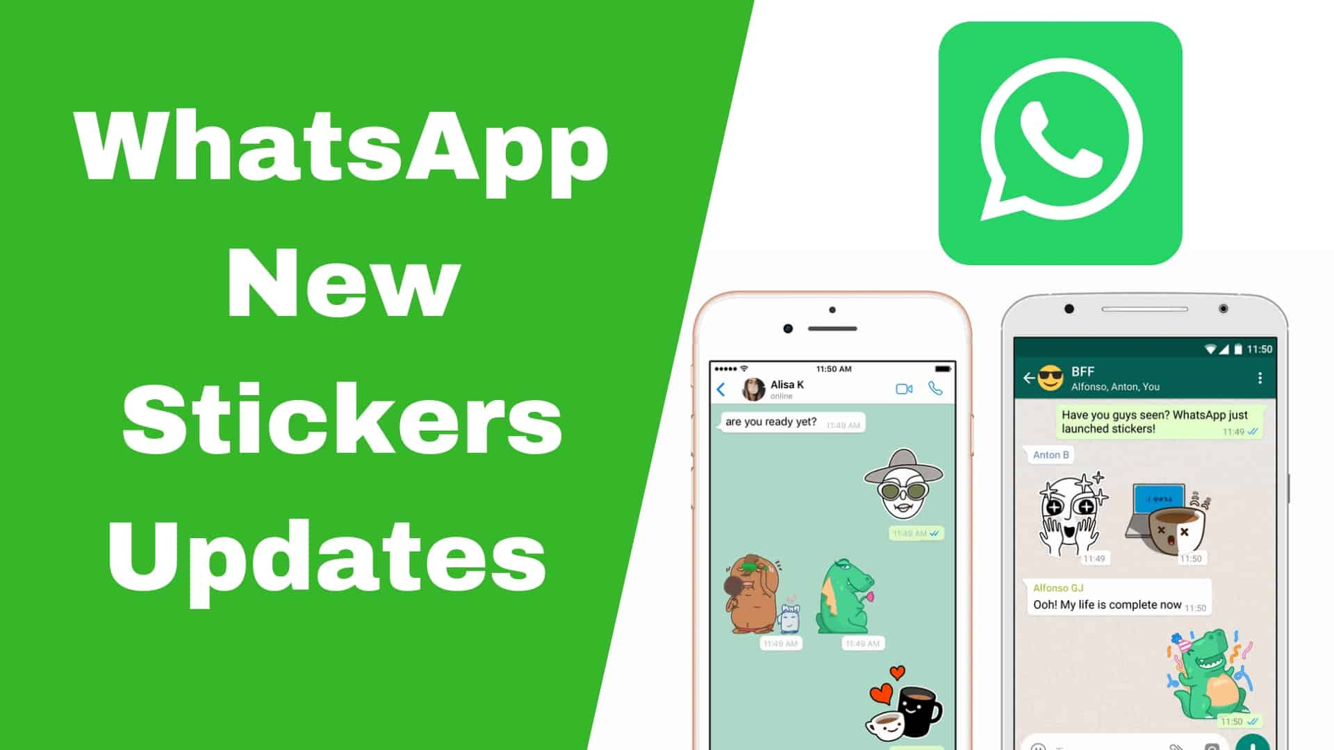 WhatsApp New Stickers Updates