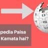 Wikipedia Paise Kaise Kamata Hai? बिज़नस मॉडल