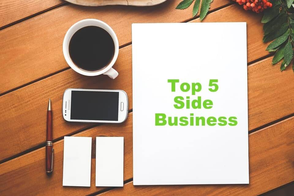 top 5 part time business ideas