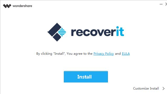 install recoverit