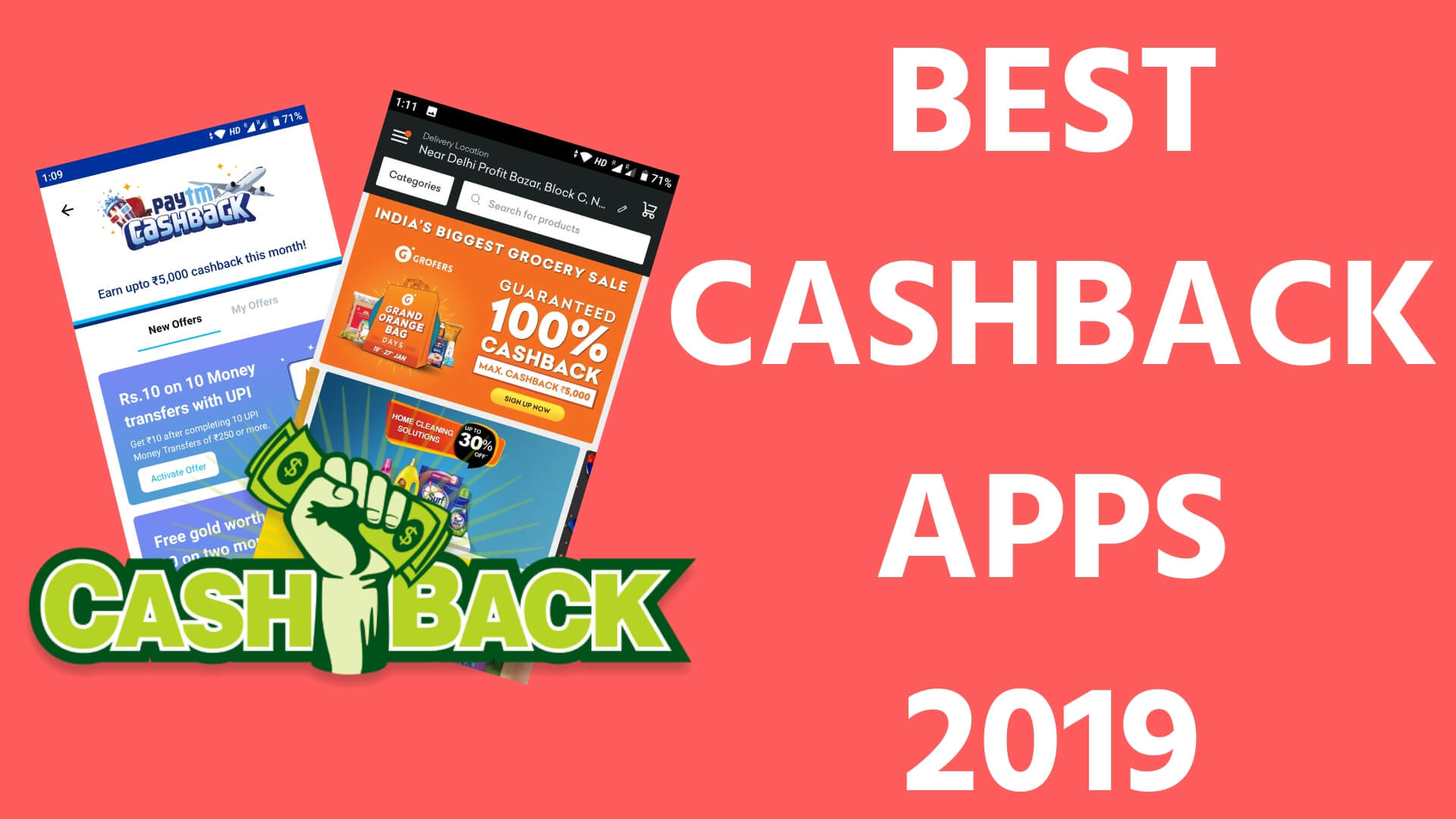 BEST CASHBACK APPS