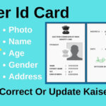 Voter ID Card - Photo, Name, Address, Age, Gender, DOB