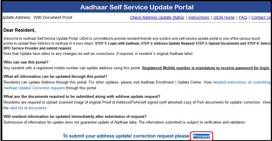 aadhaar self portal