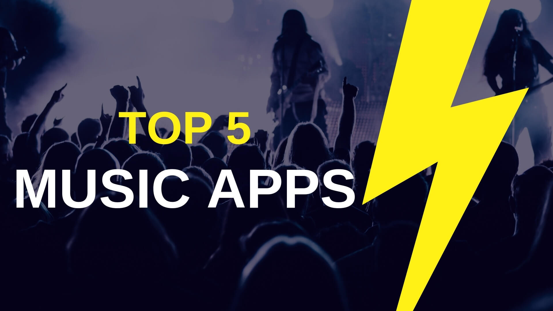 top 5 music apps