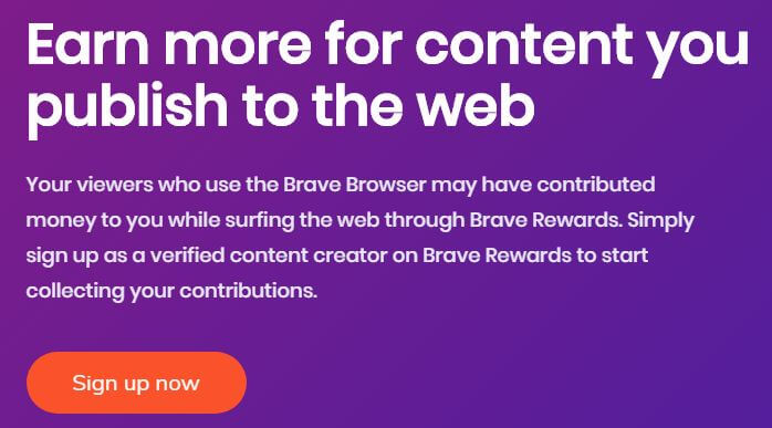 earn money from brave