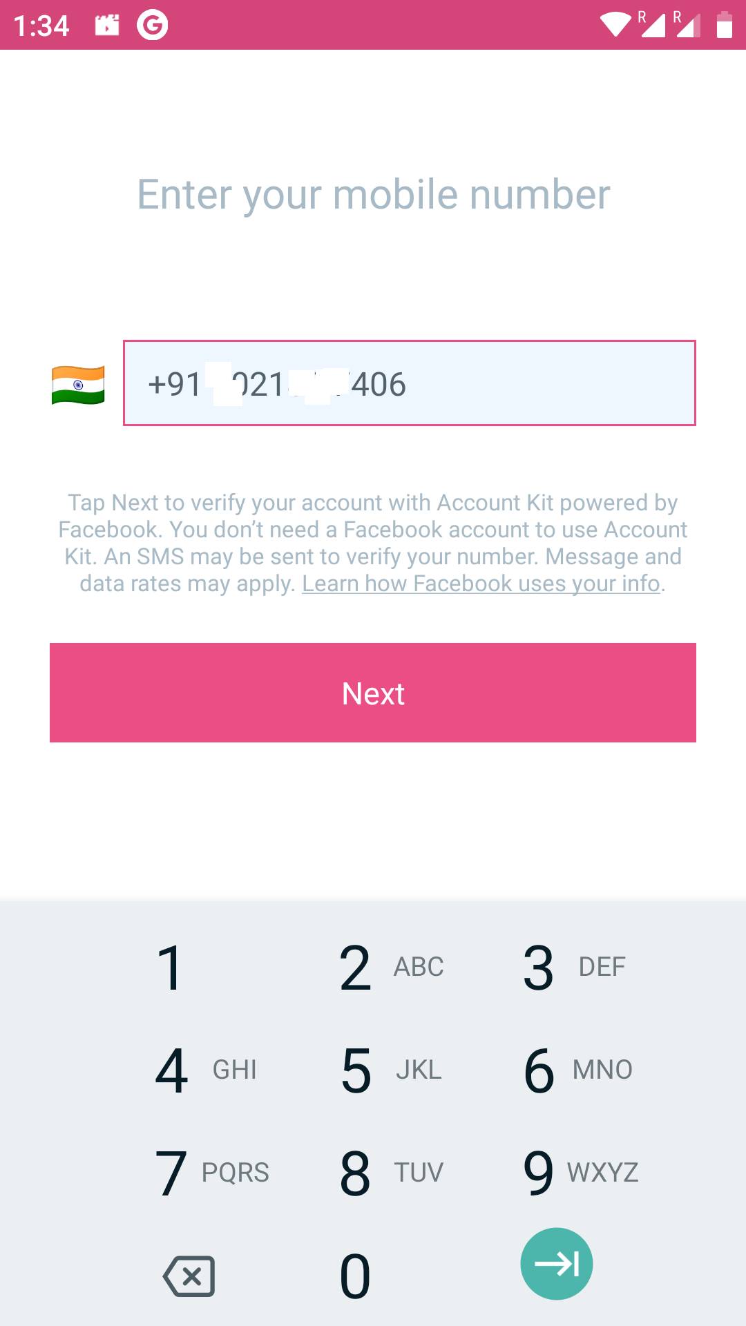 create meesho account