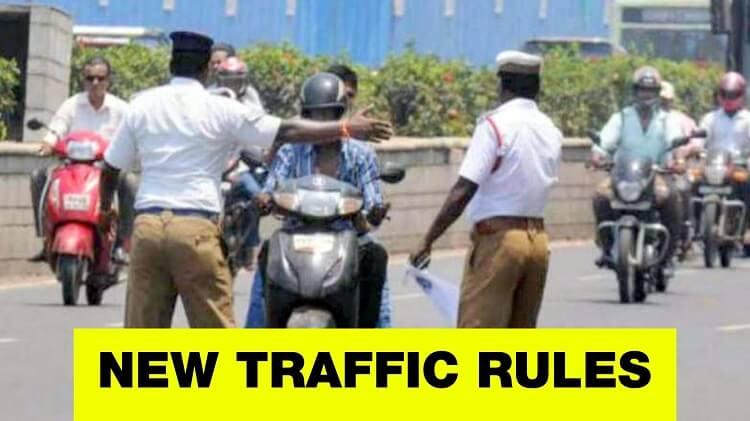 new traffic challan