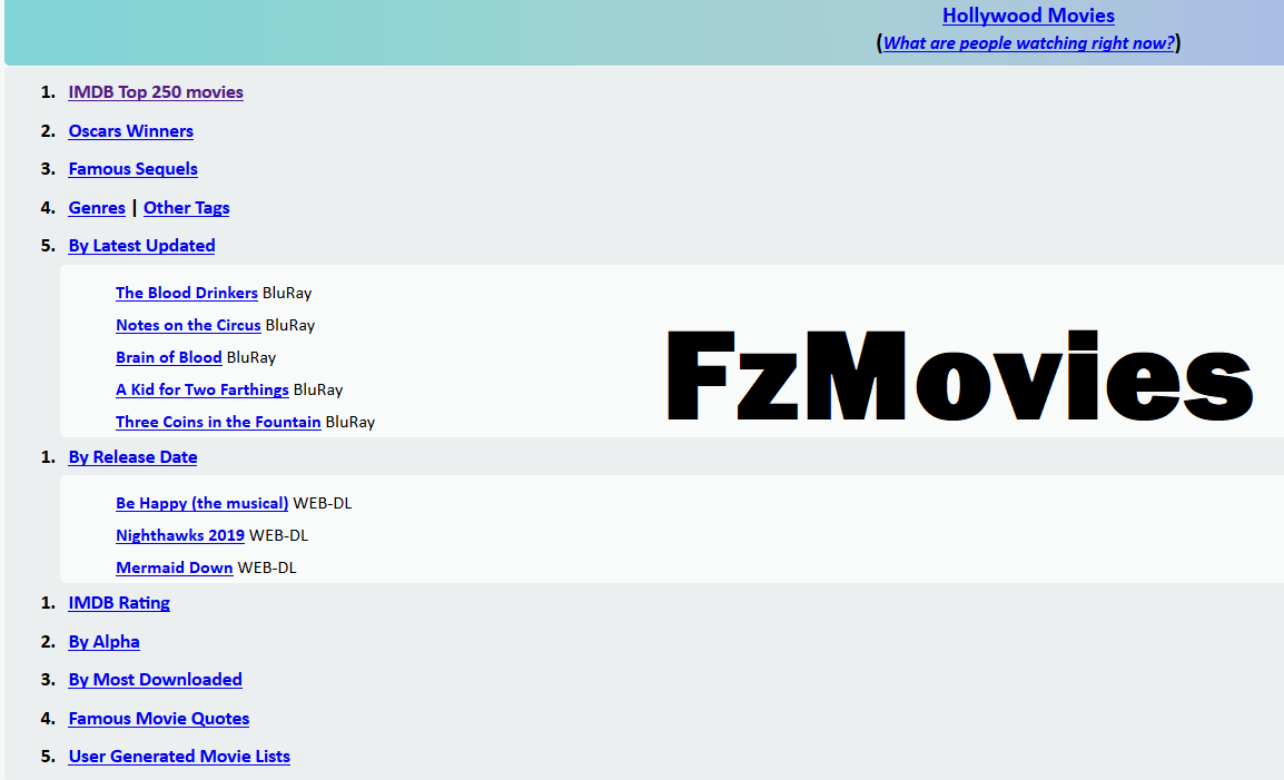 fzmovie website