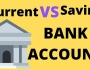 Saving vs current account