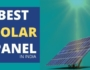 Best Solar Panels India
