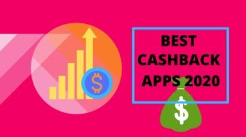 best cashback apps 2020