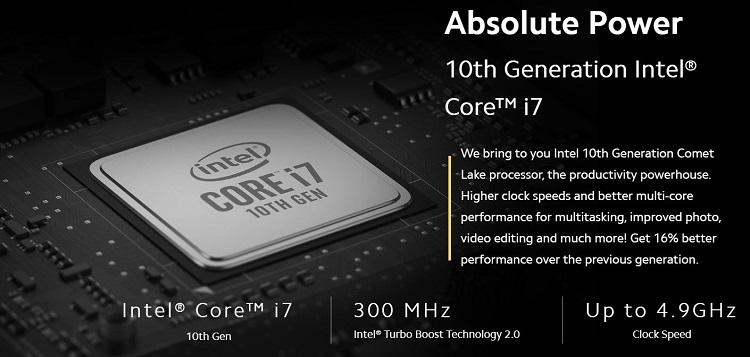 intel processor 10th gen