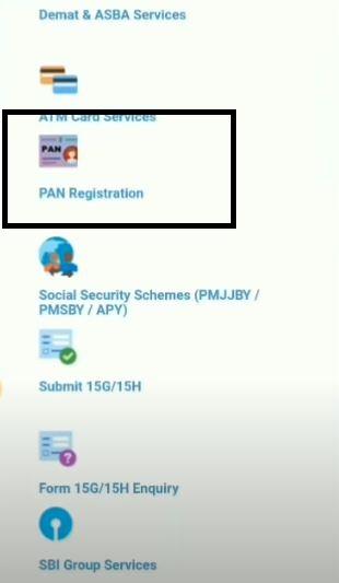 register PAN details