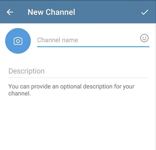 Setup telegram channel