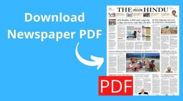 download newspaper pdf