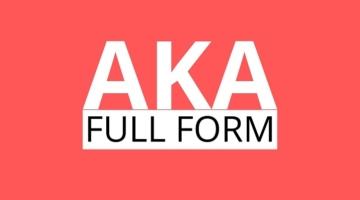 AKA meaning in Hindi