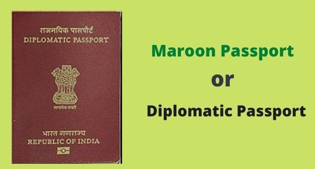 Maroon passport