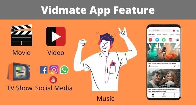 Vidmate App Features