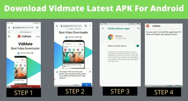 Vidmate Latest APK For Android
