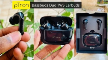pTron Bassbuds Duo TWS Earbuds Review in Hindi