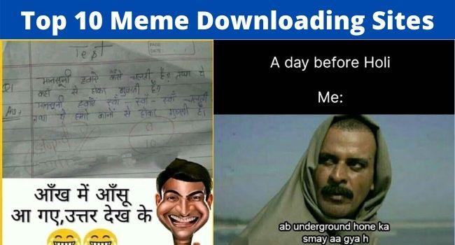 Memes downloading websites